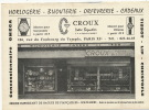 Pub Format 21 Par 15 Croux Bijoutier 106 Rue Fg Du Temple Omega Tissot, Diamant, Lip - Blotters