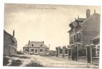 Andechy (80) : La Rue De L'église, Maison En Cours De Construction En 1920. - France