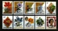 AITUTAKI 1972 MNH Stamp(s) Definitive´s Overprint 31-40 - Aitutaki