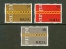 MALTA 1971 MNH Stamp(s) Europa 422-424 - Malta