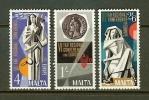 MALTA 1968 MNH Stamp(s) Europe 383-385 - Malta