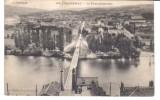 CPA CAPDENAC, Le Pont Suspendu, 1907 - Non Classés