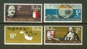 MALTA 1969 MNH Stamp(s) Cremona 389-392 - Malta