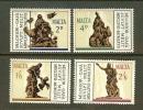 MALTA 1967 MNH Stamp(s) Gafa Sculptures 356-359 - Malta