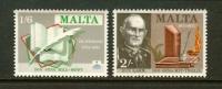 MALTA 1971 MNH Stamp(s) Poets 420-421 - Malta