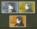 UK 1971 MNH Stamp(s) Poets 577-579 - 1952-.... (Elizabeth II)
