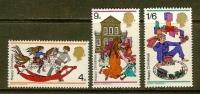 UK 1968 MNH Stamp(s) Christmas 493-495 - 1952-.... (Elizabeth II)