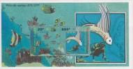 Wallis Et Futuna N° 8** BF Neuf Sans Charniere Fonds Marins Du Lagon - Blocks & Sheetlets