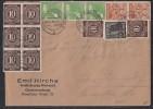 Brief Zehnfachfrankatur Mif Minr.8x 918,943,3x 946,2x 951 - Sowjetische Zone (SBZ)