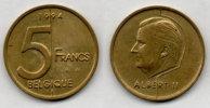 BELGIUM BELGIEN 5 Francs 1994. # 1217. - 03. 5 Frank