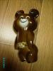 RUSSIA USSR MOSCOW 1980 OLYMPICS MASCOT PORCELAIN BEAR MISHA - Apparel, Souvenirs & Other