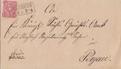 DR Brief EF Minr.33 Nachv. St. Teuchern Pegau - Deutschland