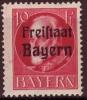 Bavière - Bayern / Y&T No 155* Mi Nr 155 A* / 0.20 Euros - Bavaria