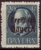 Bavière - Bayern / Y&T No 157* Mi Nr 157 A* / 0.20 Euros - Bavaria