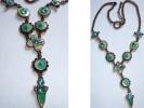 COLLIER éMAIL & STRASS DE COULEUR❀FANTAISIE✿EN TBE - Necklaces/Chains