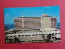 San Juan P.R.    La Concha Hotel Beach & Cabana Club  1962 Cancel Early Chrome    -----   ====  Ref 363 - Puerto Rico