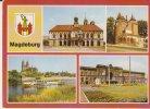 Magdeburg Mehrbildkarte - Magdeburg