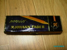 VINTAGE TIN PENCIL BOX APOLLO JOHANN FABER - Other Collections