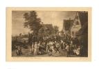 Cp, Peintures Et Tableaux, La Fête Du Village - Teniers - Paintings