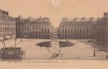Dép. 35 - RENNES. - Place Du Palais Et Rue Edith-Cavell - Tramway. A. G. N° 138. Voyagée - Rennes