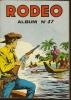 RODEO Reliure N° 57 ( N° 295 + 296 + 297 + 298 )   - LUG  1976 - Rodeo