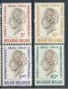 BELGIUM, BELGIQUE 1960 OBP 1159-1162 HUBERT FRERE ORBAN, GEMEENTEKREDIET. MNH, POSTFRIS, NEUF**.  VERY FINE QUALITY - Belgique
