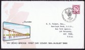 1966  Tay Bridge Opening Commemorative Cover - Regional Issues
