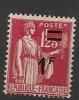 FRANCE - N° 483 (surcharge Déplacée) - Neuf  Sans Charnière - Abarten: 1941-44 Ungebraucht