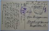 1916 GERMANY POSTCARD FELDPOST PARIS FRANCE TO SIEGBURG WITH FELDPOSTEXPEDITION 15 AND LUTZOW MARKS - Deutschland