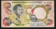 NIGERIA   P18c   20  NAIRA   1977 Signature 4   FINE - Nigeria