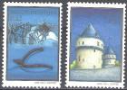 Belgique 2002 COB 3088 - 3089 Neuf ** Cote (2016) 2.20 Euro Bataille Des Eperons D´Or - Belgique
