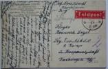 1917 GERMANY POSTCARD FELDPOST ISNY TO VAIHINGEN WITH PICTURE OF SCHLETTERALM - Deutschland