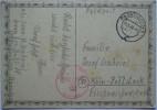 1944 GERMANY POSTCARD FELDPOST PADERBORN TO KOLN WITH STAFF STAB MARK - Briefe U. Dokumente