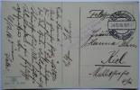 1916 GERMANY POSTCARD FELDPOST ZEELAND NETHERLANDS TO KIEL WITH RES. INT. RGT. 84,4 KOMP MARK - Deutschland