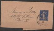 FRANCE  1906:_BANDE POUR JOURNEAUX_N°279_BJ1_Date 717_OBL  VOIR  SCAN - Streifbänder