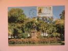 CARTE MAXIMUM MAXIMUM CARD STATUE DE LA BOURDONNAIS A ST DENIS FRANCE - 1980-89