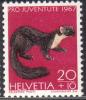 Zu J 221 PRO JUVENTUTE 1967 ** / MNH - Nuovi