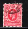 East Africa & Uganda Protectorate 1912-18 King George V 6c Used - Protectorados De África Oriental Y Uganda