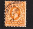 East Africa & Uganda Protectorate 1912-18 King George V 10c Used - Protectorados De África Oriental Y Uganda