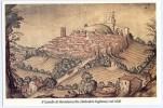 TAVULLIA (PESARO) - Il Castello Di Montelevecchie (Belvedere Fogliense) Nel 1626. Formato Grande. Non Viaggiata. - Pesaro