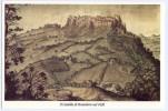 TAVULLIA (PESARO) - Il Castello Di Monteluro Nel 1626. Formato Grande. Non Viaggiata. - Pesaro