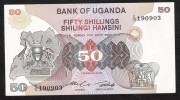 UGANDA  P18a   50  SHILLINGS   1982    UNC. - Ouganda