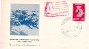 ARGENTINA - 1959 ANTARCTICA Cacheted Penguin Cover - Polar Philately