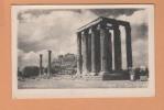 Athène  Grèce ( Temple De Zeus Jeux Olympiques ) Ancienne Carte Postale Vintage Postcard - Grèce