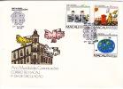 1983  International Year Of Communications  Complete Set FDC - Macau