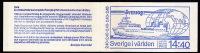 1981  La Suède Et Le Monde:  Trains, Matériel électrique, Birgit Nilsson, Bjorn Borg, Ing Carnet Complet  **  Facit H333 - Carnets
