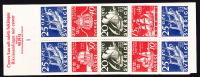 1966  Navires  Carnet Complet  **  Facit H182 - Booklets