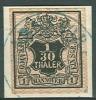 Allemagne - Anciens Etats, Hannover No 10 Oblitéré (ARNSTORF) Sur Fragment, Très Propre, Luxe - Hannover