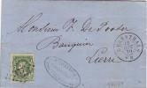 Lettre AC LII N°30 LP 177 De HERENTHALS Du 12/10/70 à LIERRE  - TB ET R - 1869-1883 Léopold II