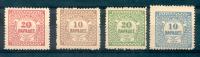 CRETE BUREAUX ANGLAIS D'HERAKLION 1898-1899 YVERT NRS. 2-5 COTATION PLUS DE 85 EUROS MNH SOLD AS IS